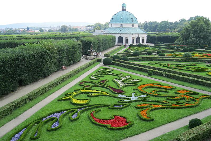 Haná Park Květná zahrada Kroměříž  Penzion Pohoda Luleč